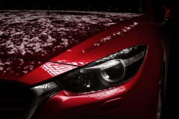 red car - car detailer - Signature Detailers - Washington DC